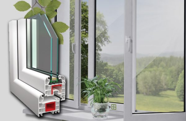 70mm ablak 2 rétegű egy szárnyú