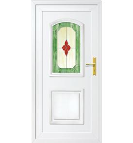 Jasmin T-1 műanyag bejárati ajtó