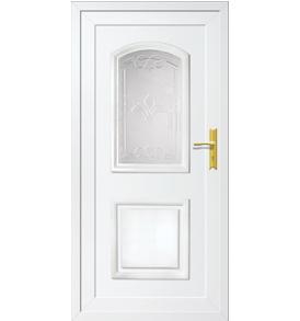 Jasmin T-2 műanyag bejárati ajtó