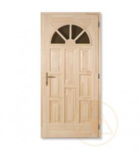 Napsugár tele bejárati ajtó