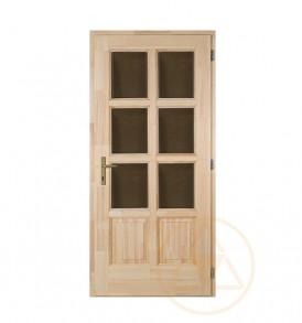 Szikra 8 kazettás 6 üveges bejárati ajtó