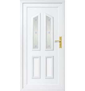 Tulip II T-1 műanyag bejárati ajtó