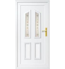 Tulip II T-2 műanyag bejárati ajtó