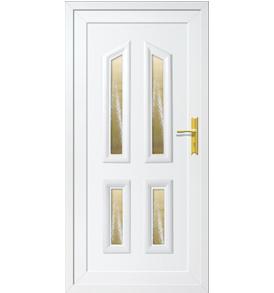 Tulip IV műanyag bejárati ajtó
